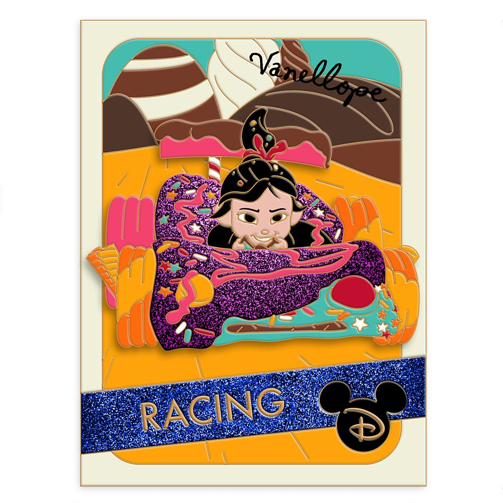 Vanellope Pin – Wreck It Ralph – Trading Cards: Racing – Limited Edition
