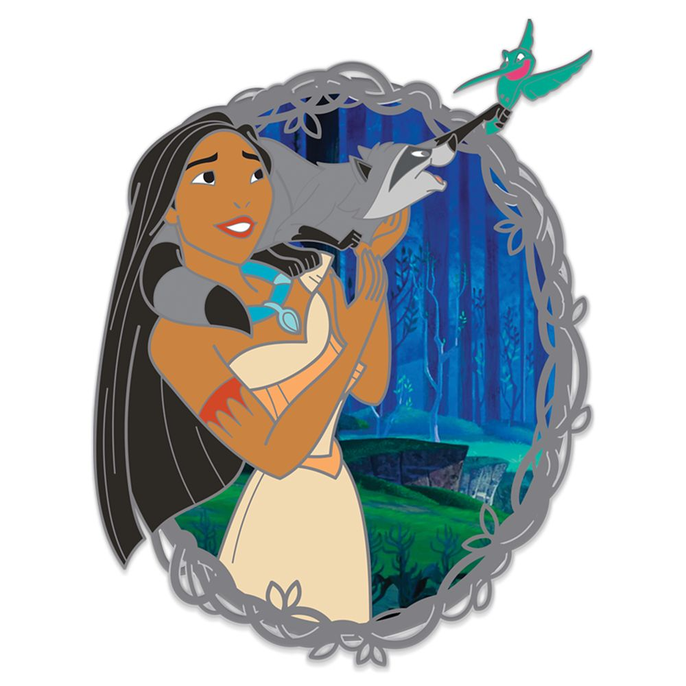 Pocahontas with Meeko and Flit Pin – 25th Anniversary – Limited Edition