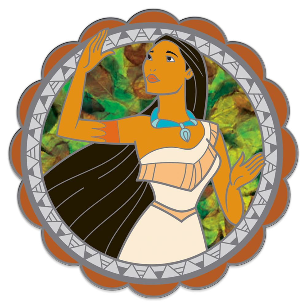 Pocahontas Spinning Pin – 25th Anniversary – Limited Edition