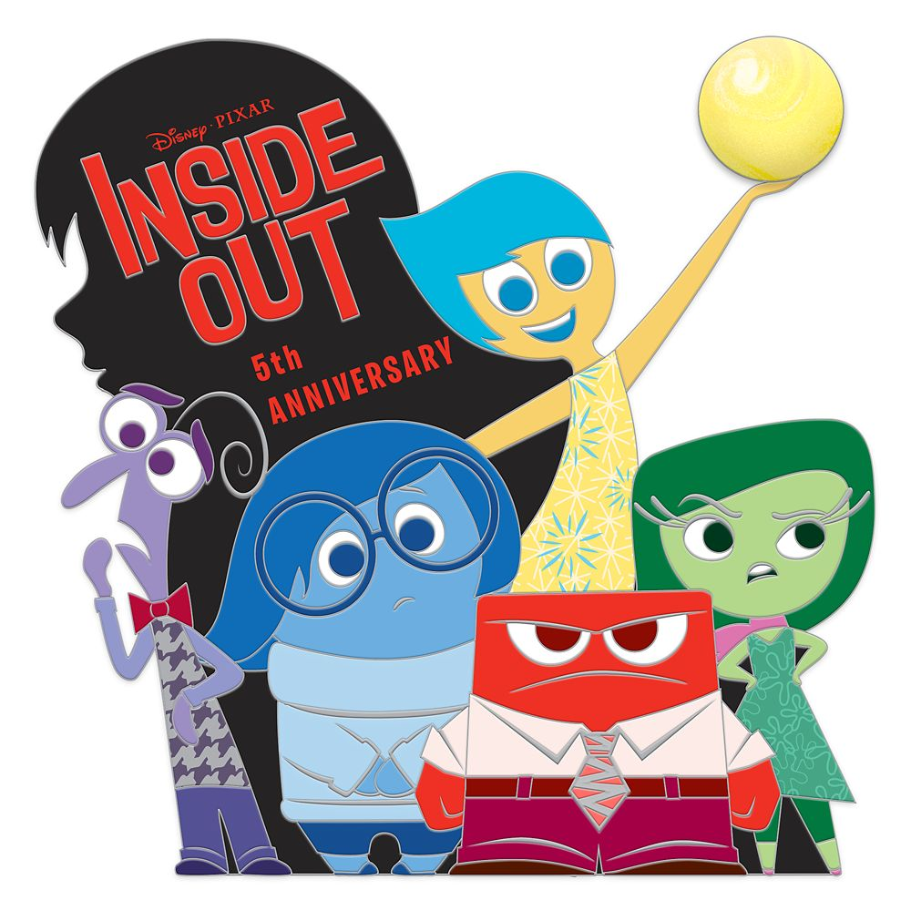 Inside Out Pin – 5th Anniversary – Limited Edition