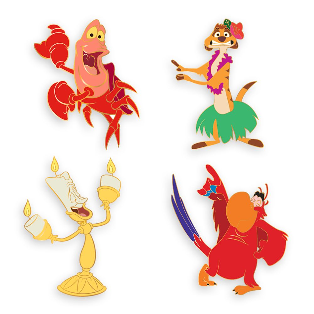 Disney Dance Party D-Flair Pin Set