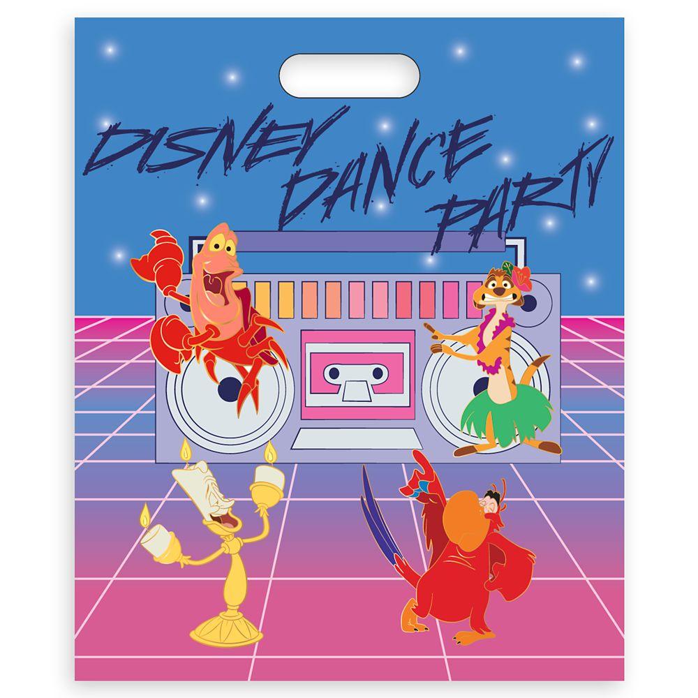 Disney Dance Party D-Flair Pin Set
