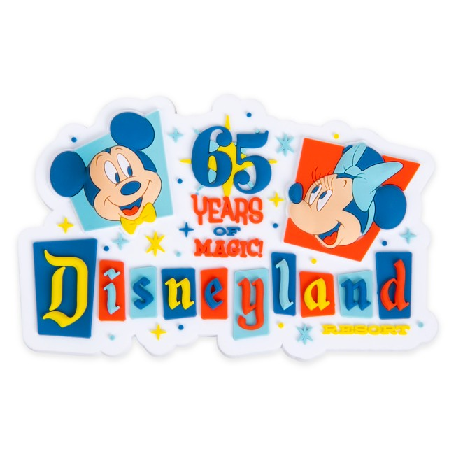 Disneyland 65th Anniversary Magnet
