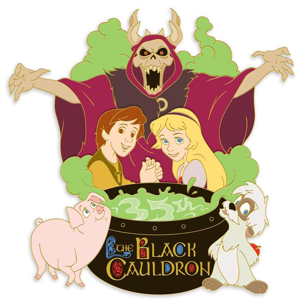 The Black Cauldron Pin – 35th Anniversary – Limited Edition