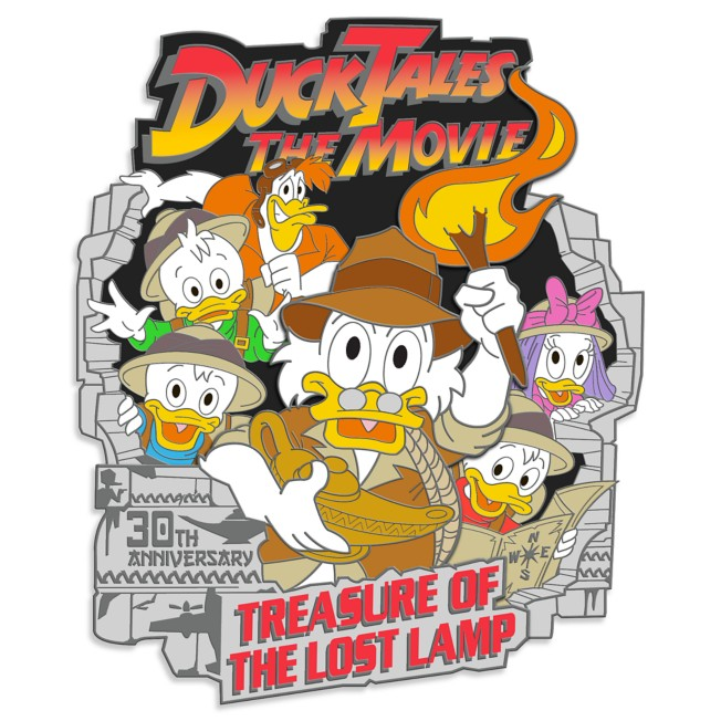 DuckTales The Movie: Treasure of the Lost Lamp Pin – 30th Anniversary – Limited Edition