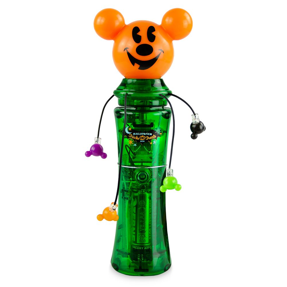 Mickey Mouse Halloween Pumpkin Glow Spinner