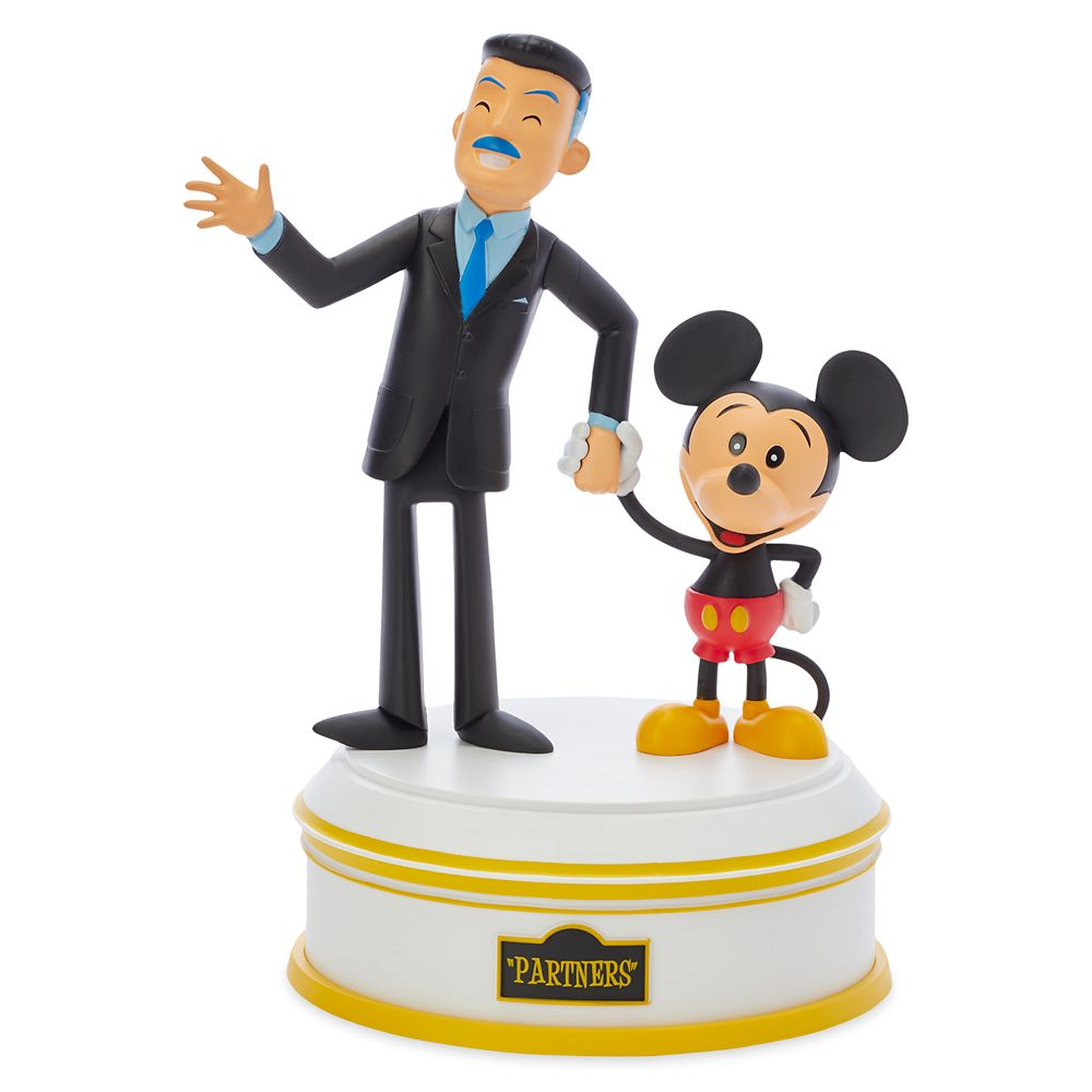 Walt Disney and Mickey Mouse Partners Vinyl Figure by Dave Perillo – WonderGround Gallery