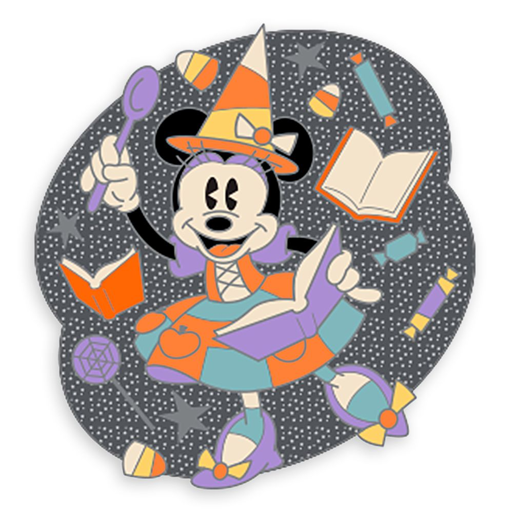Minnie Mouse Halloween Pin