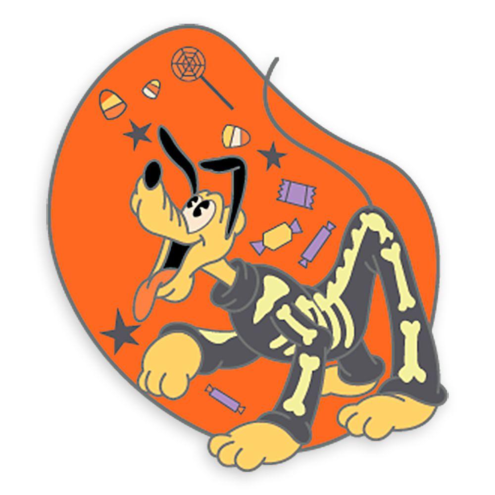 Pluto Halloween Pin