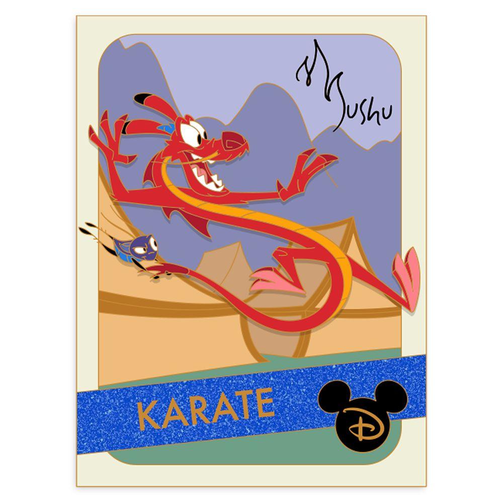 Mushu Pin – Mulan – Trading Cards: Karate – Limited Edition