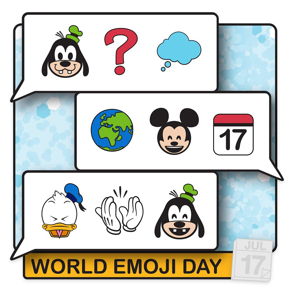 Mickey Mouse and Friends Pin – World Emoji Day 2020 – Limited Edition