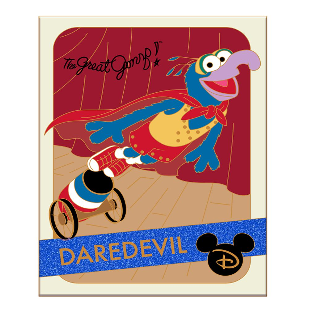 Gonzo Pin – The Muppets – Trading Cards: Daredevil –  Limited Edition