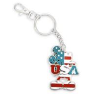 Mickey Mouse Americana Metal Key Chain