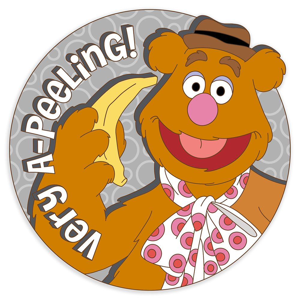 Fozzie Bear Pin – The Muppets – Disney Scents – Pin of the Month – Limited Edition