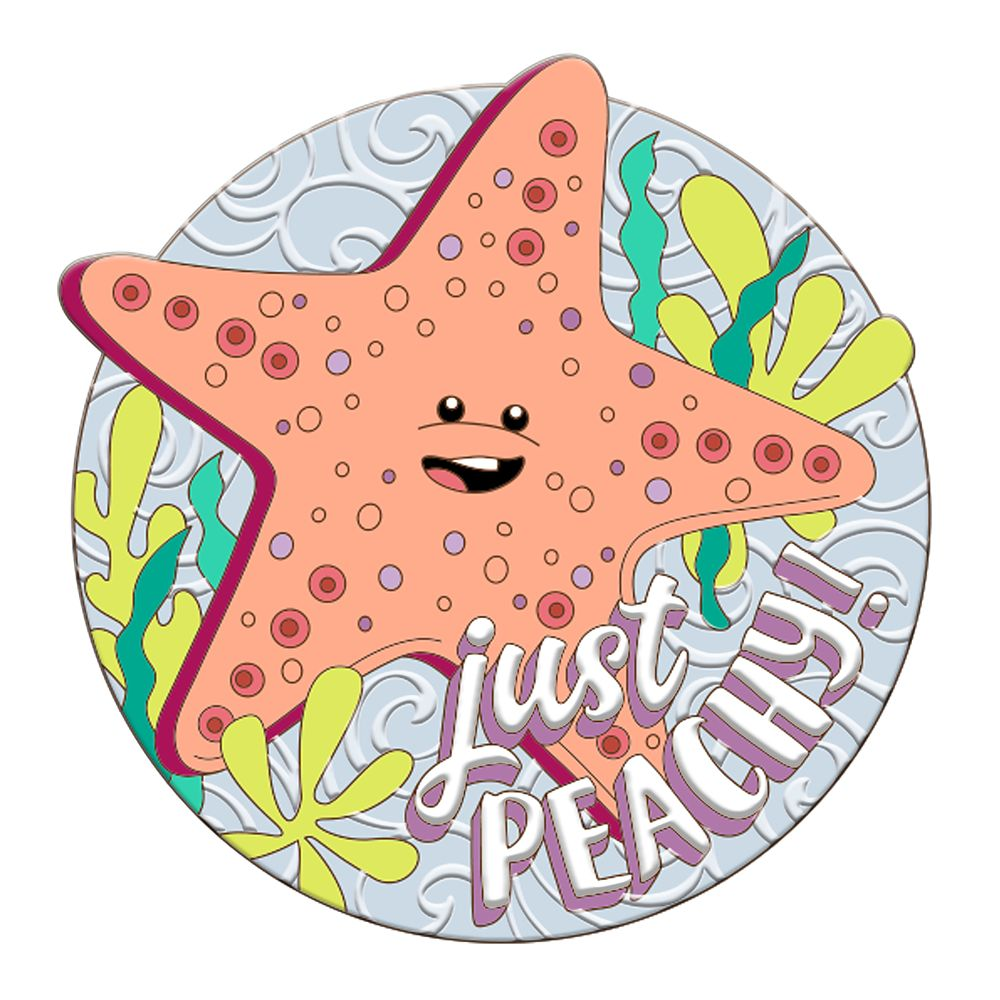 Peach Pin – Finding Nemo – Disney Scents – Pin of the Month – Limited Edition