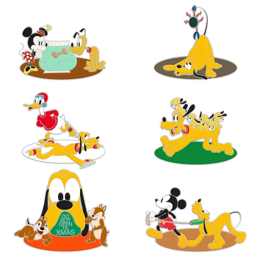 Pluto 90th Anniversary Mystery Pin Pack – Limited Edition