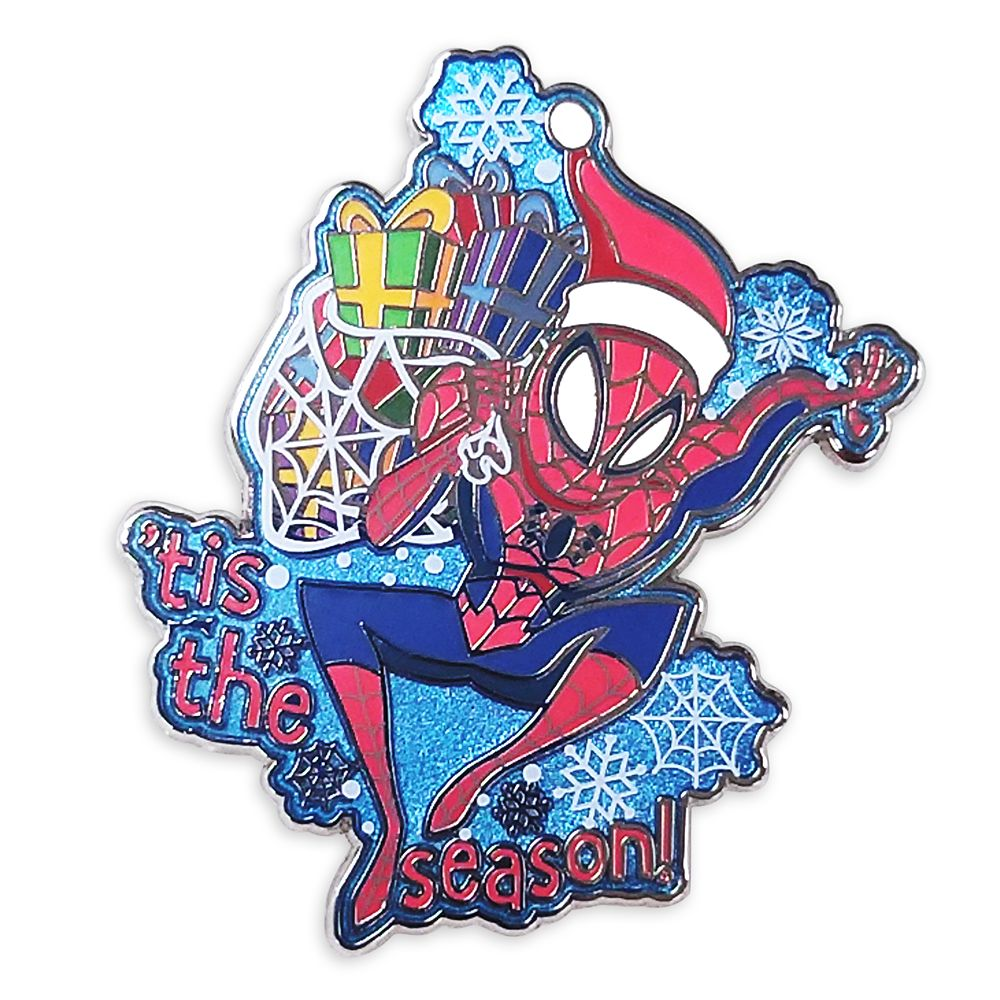 Spider-Man Holiday Pin