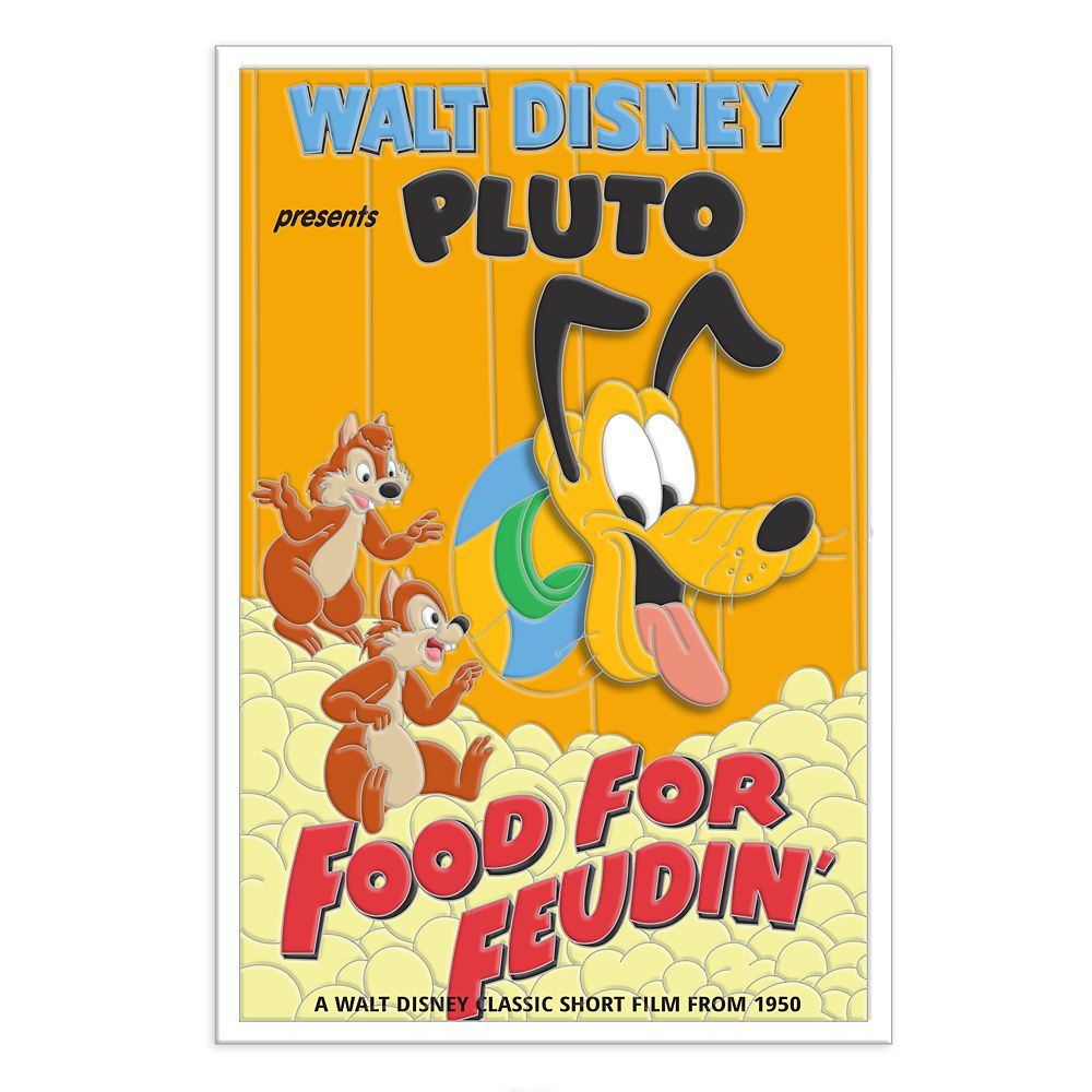 Pluto 90th Anniversary Pin – Food for Feudin' – Limited Edition