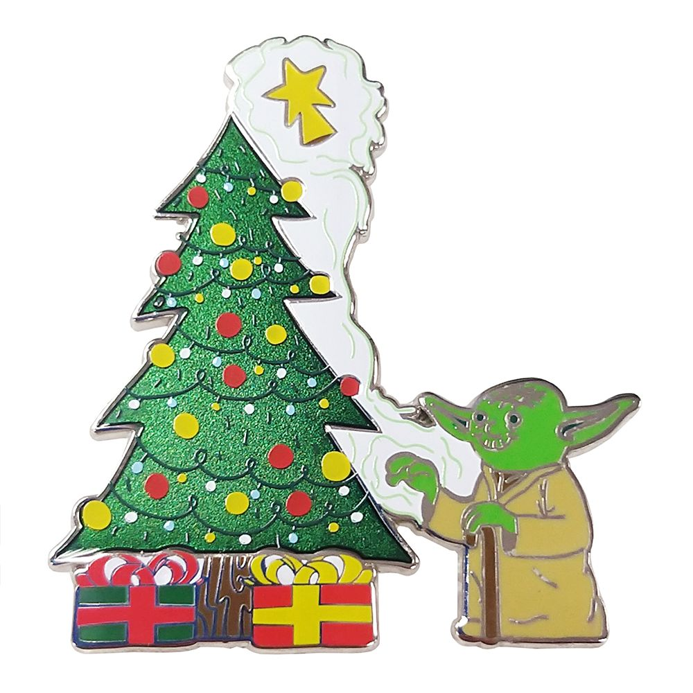 Yoda Holiday Pin – Star Wars