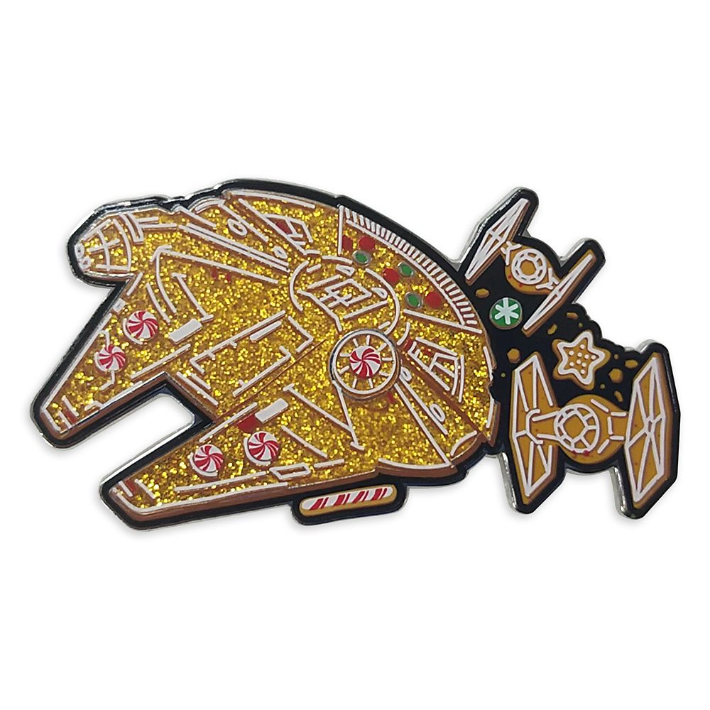 Millennium Falcon Holiday Pin – Star Wars