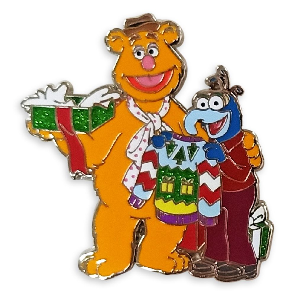 Fozzie and Gonzo Holiday Pin – The Muppets