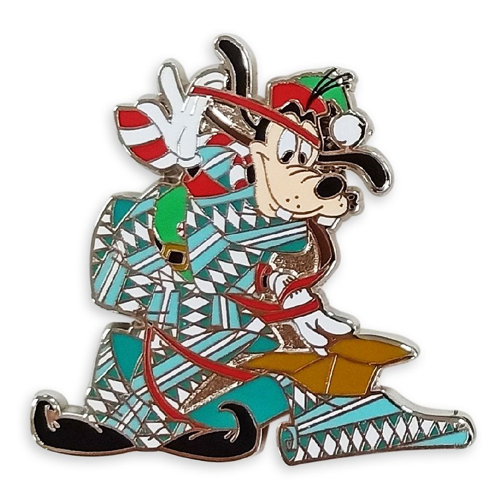 Goofy Holiday Pin