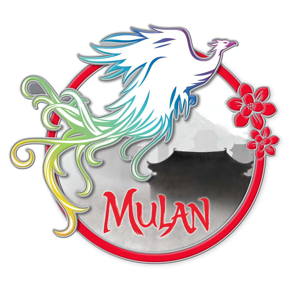 Mulan Phoenix Pin – Live Action Film – Limited Edition