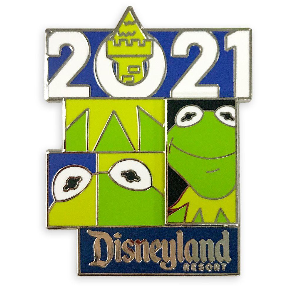 Kermit Pin – The Muppets – Disneyland 2021