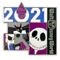 Jack Skellington Pin – Walt Disney World 2021