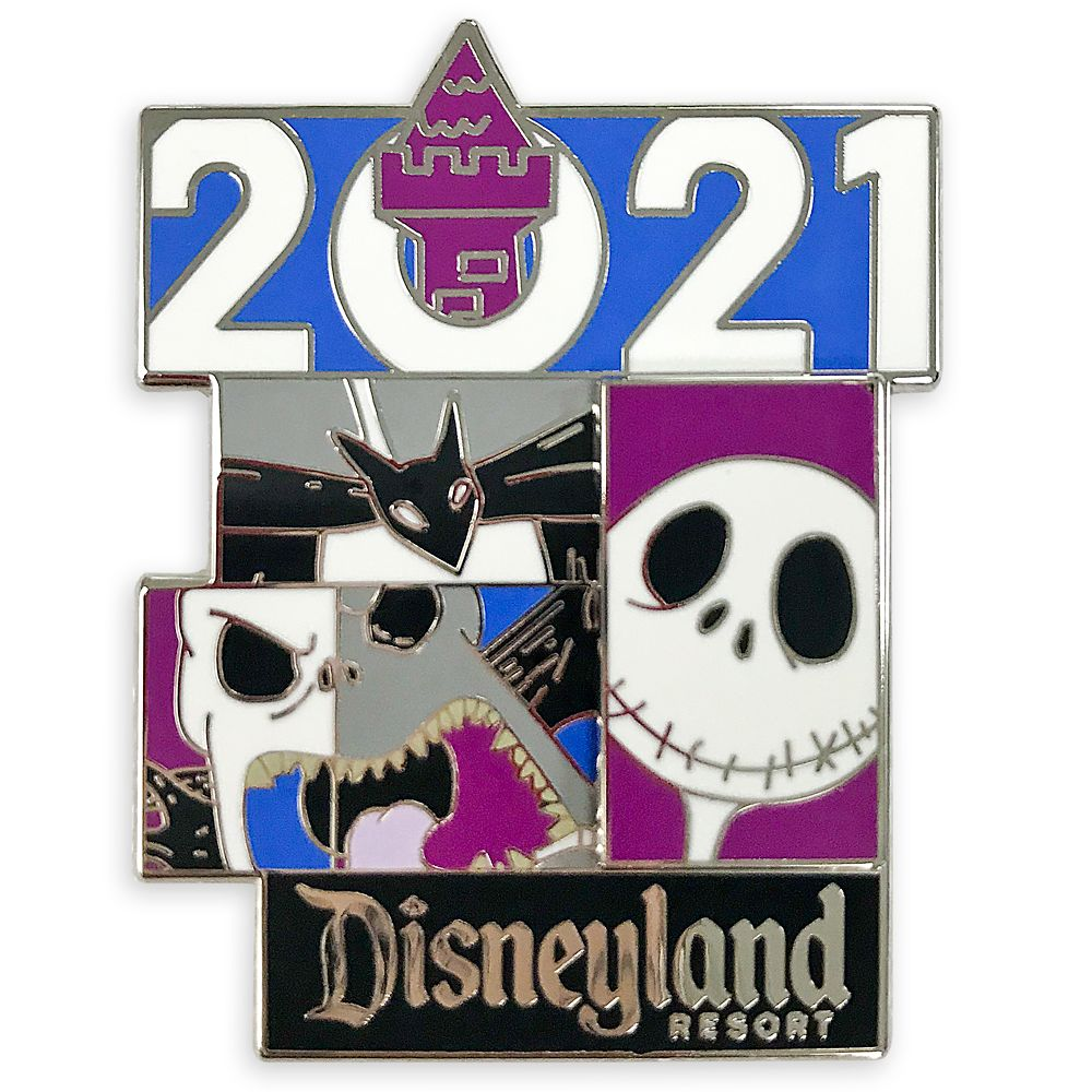 Jack Skellington Pin – Disneyland 2021