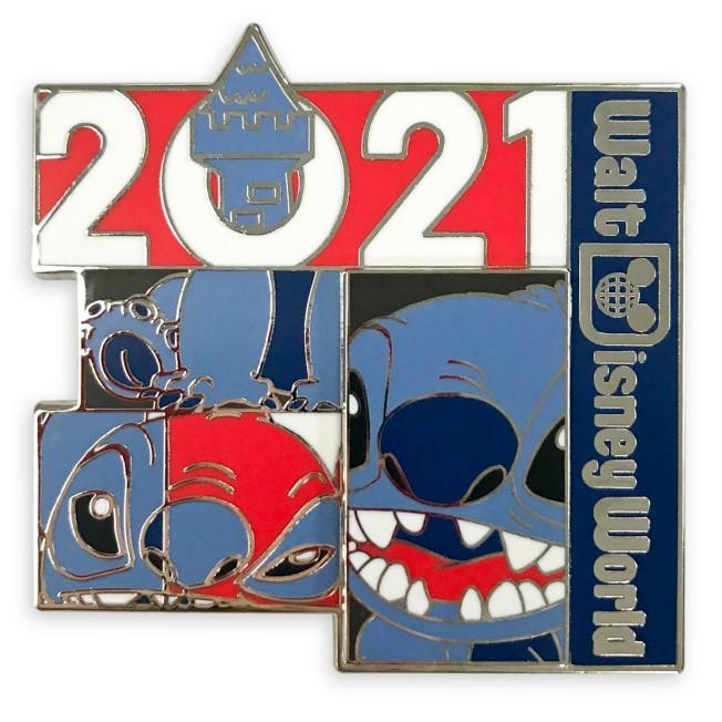 Stitch Pin – Walt Disney World 2021