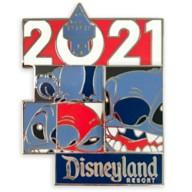 Stitch Pin – Disneyland 2021