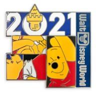 Winnie the Pooh Pin – Walt Disney World 2021