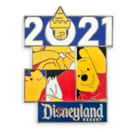 Winnie the Pooh Pin – Disneyland 2021