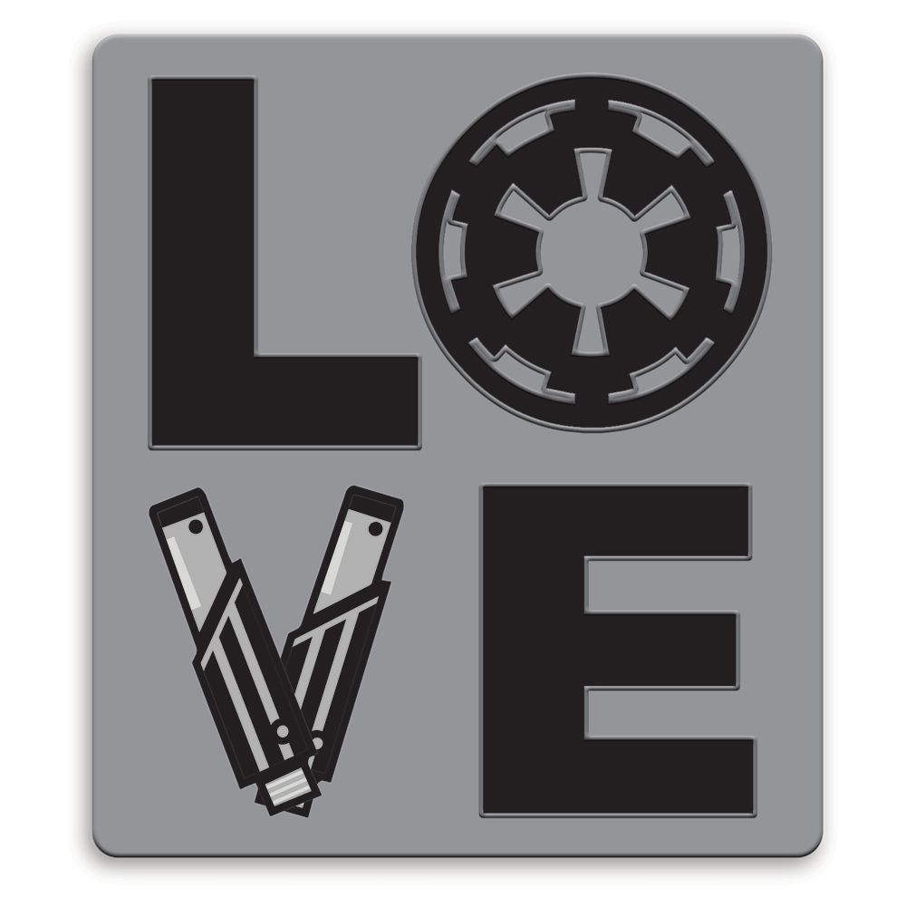 Imperial Crest LOVE Pin by Her Universe – Star Wars – Limited Release