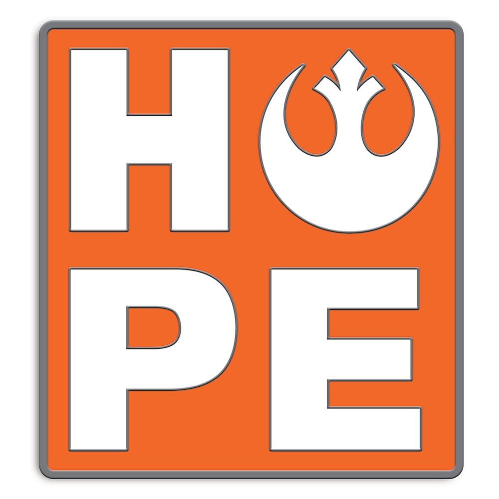 Rebel Alliance Starbird HOPE Pin by Her Universe – Star Wars – Limited Release