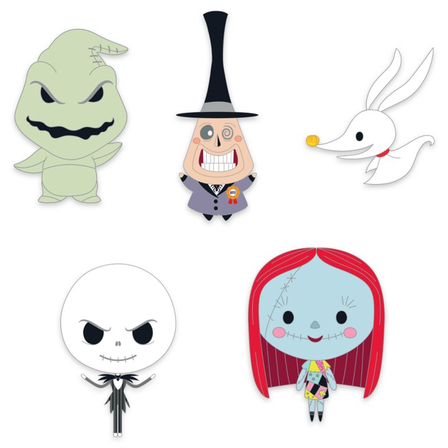 Tim Burton's The Nightmare Before Christmas ''Cute'' Pin Set