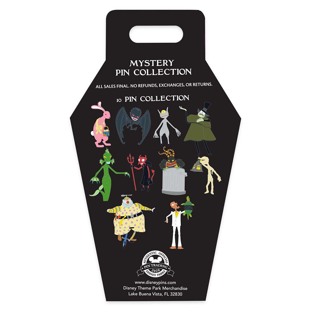 Tim Burton's The Nightmare Before Christmas Mystery Pin Set