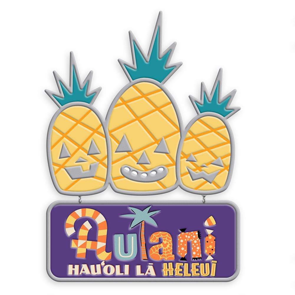 Aulani, A Disney Resort & Spa Halloween Pin – Limited Edition