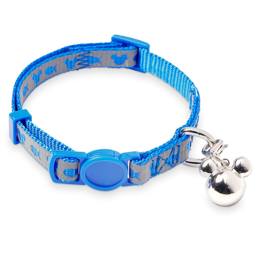 Mickey Mouse Reflective Cat Collar – Blue