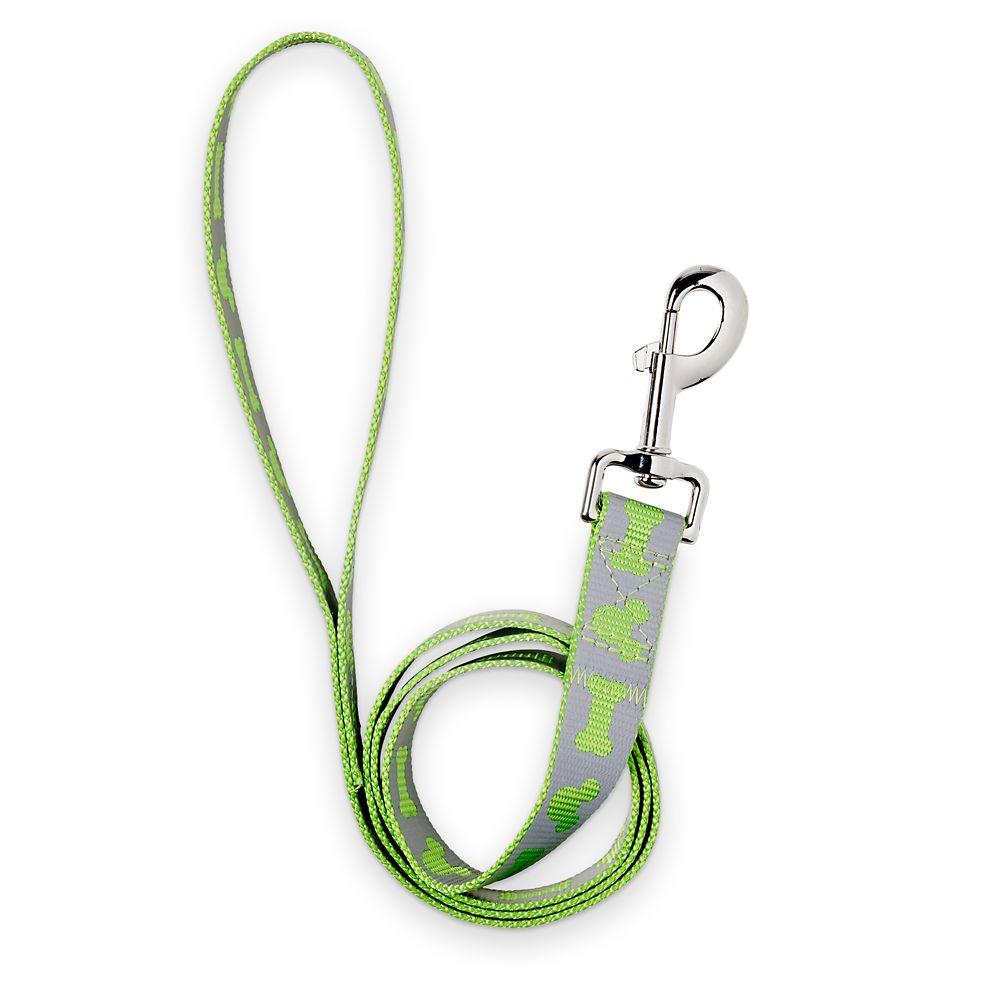 Mickey Mouse Reflective Dog Lead – Medium – Green