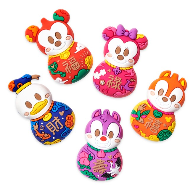 Mickey Mouse and Friends Magnet Set – Lunar New Year 2021