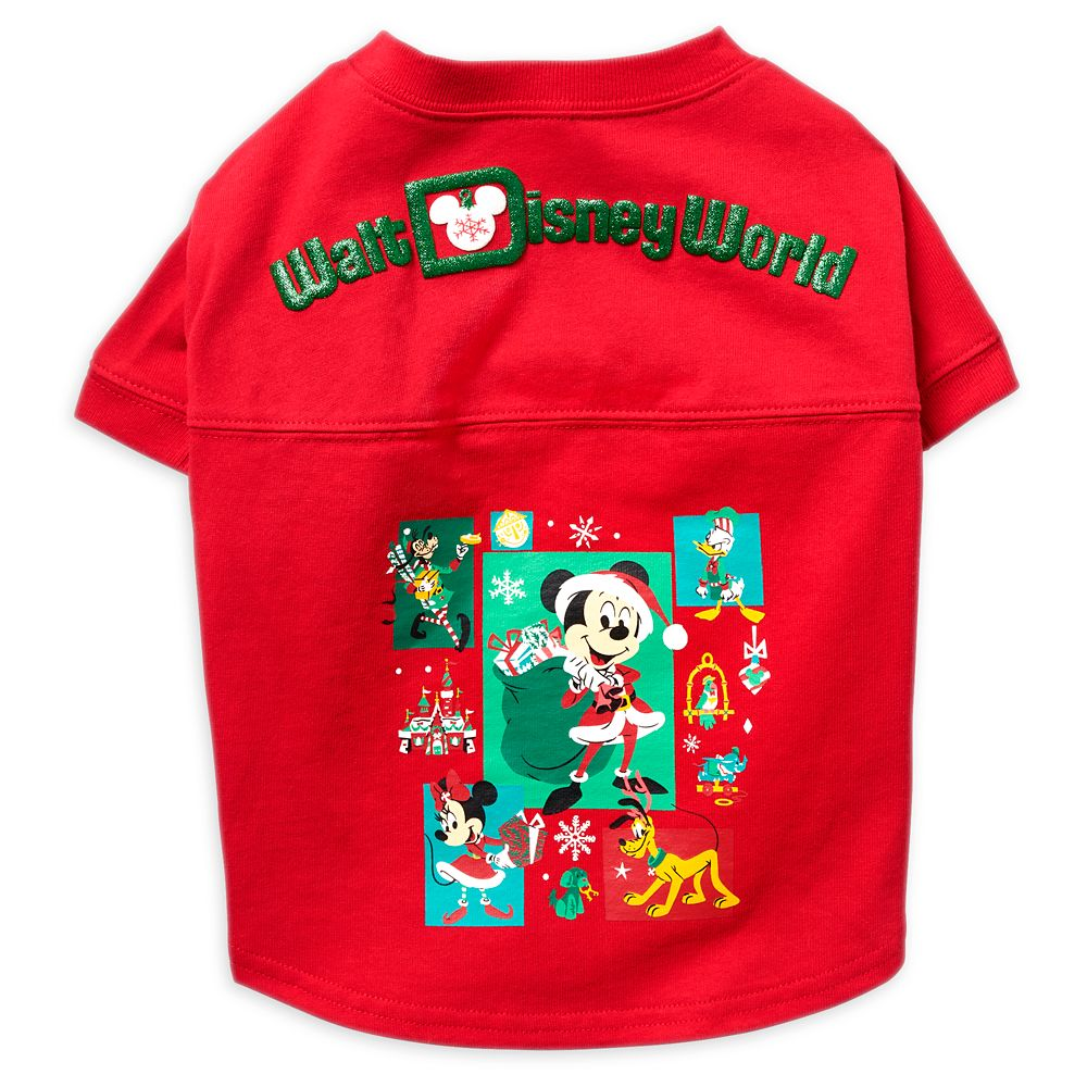 Mickey Mouse and Friends Holiday Spirit Jersey for Dogs – Walt Disney World