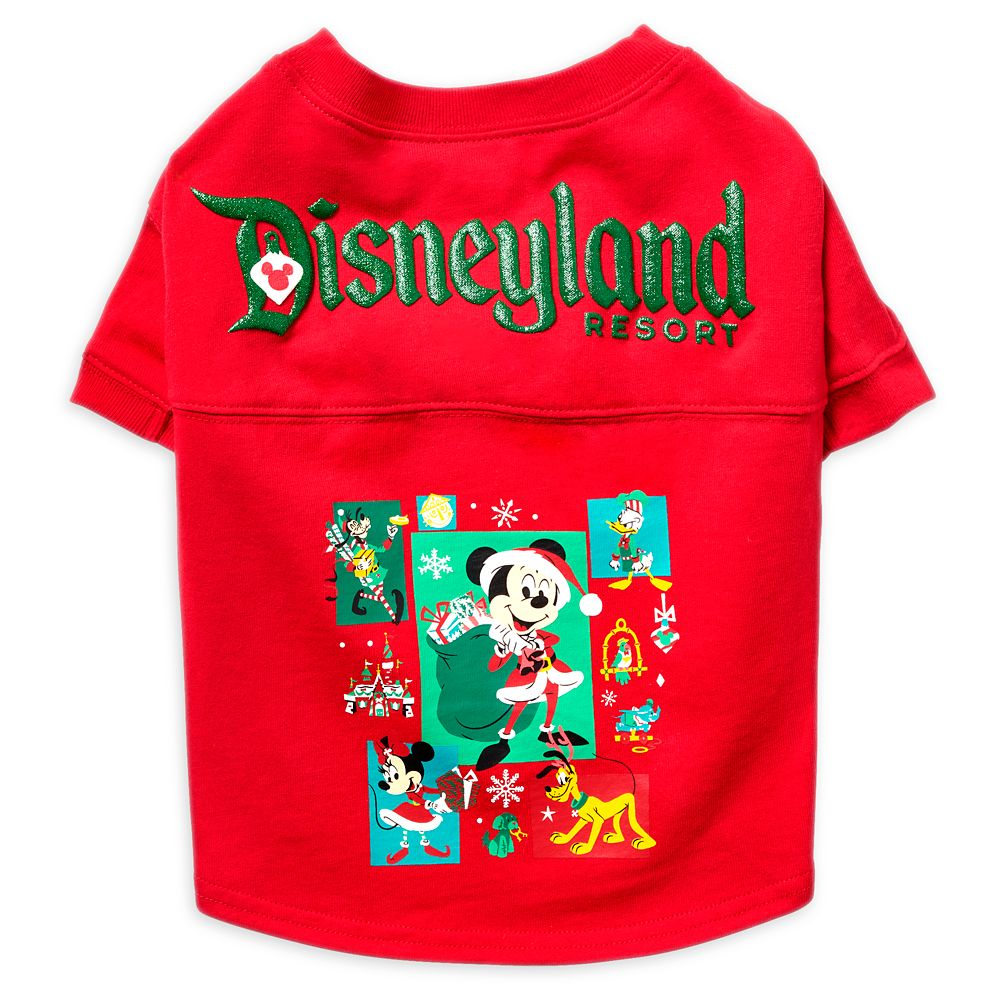 Mickey Mouse and Friends Holiday Spirit Jersey for Dogs – Disneyland