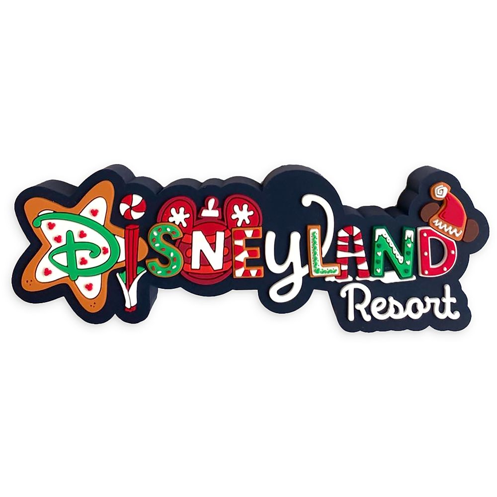 Disneyland Resort Holiday Magnet
