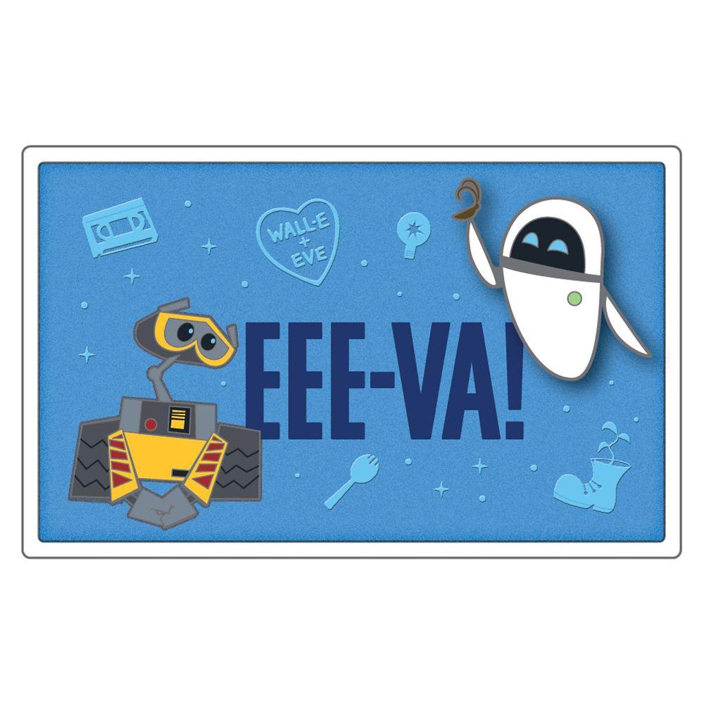 WALL•E and E.V.E. ''EEE-VA!'' Pin