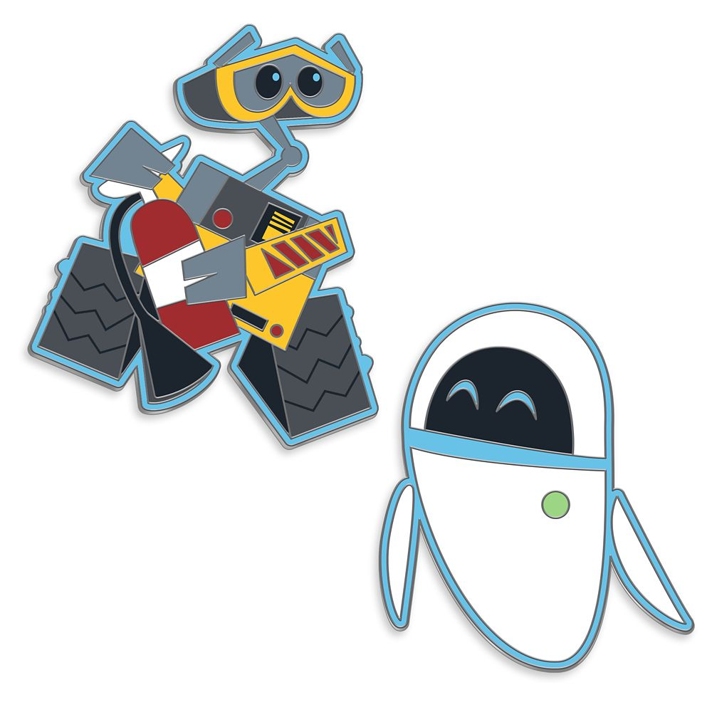 WALL•E and E.V.E. Pin Set