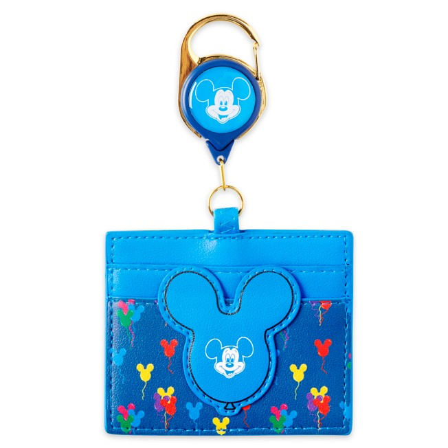 Mickey Mouse Retractable Loungefly Lanyard
