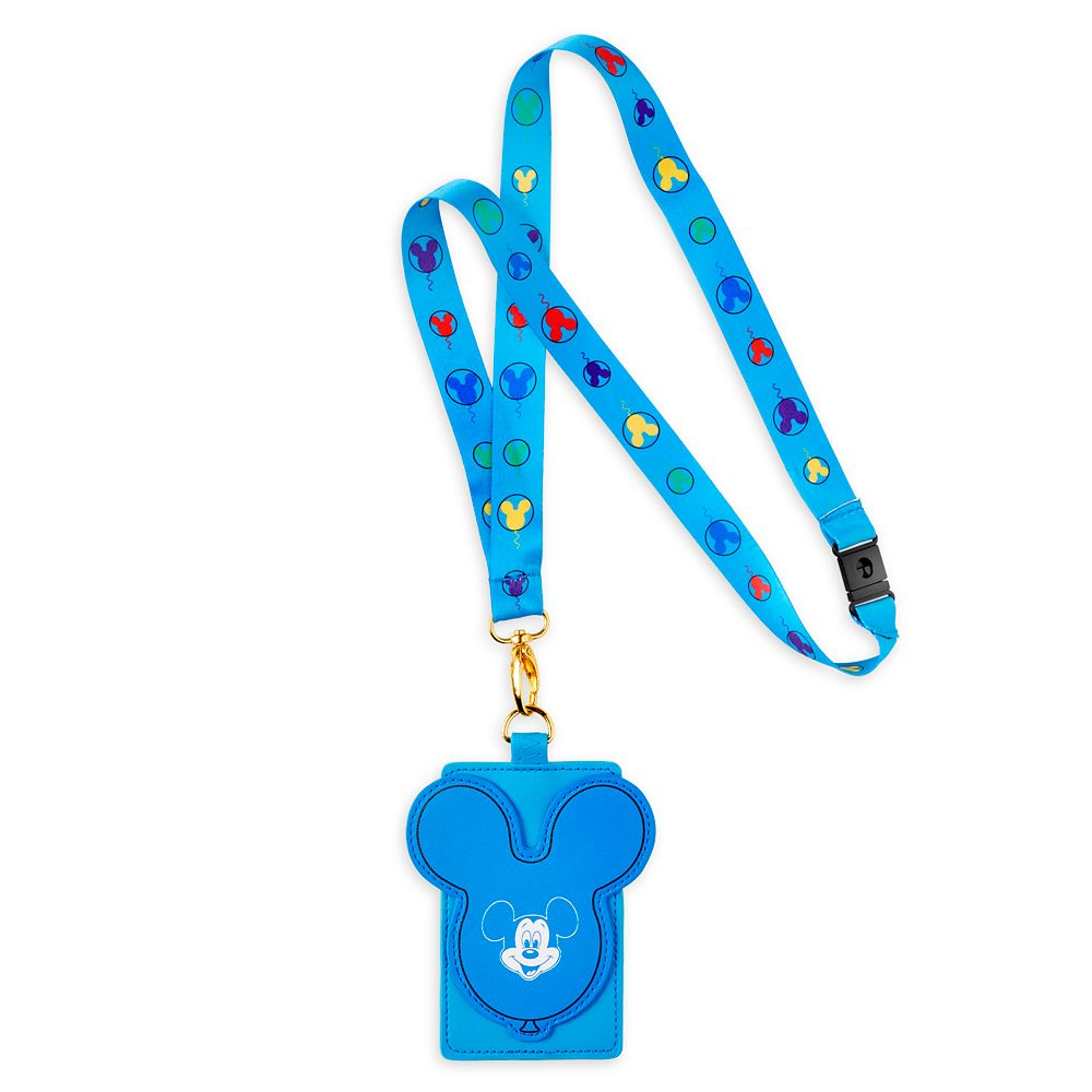 Mickey Mouse Loungefly Lanyard and Card Holder