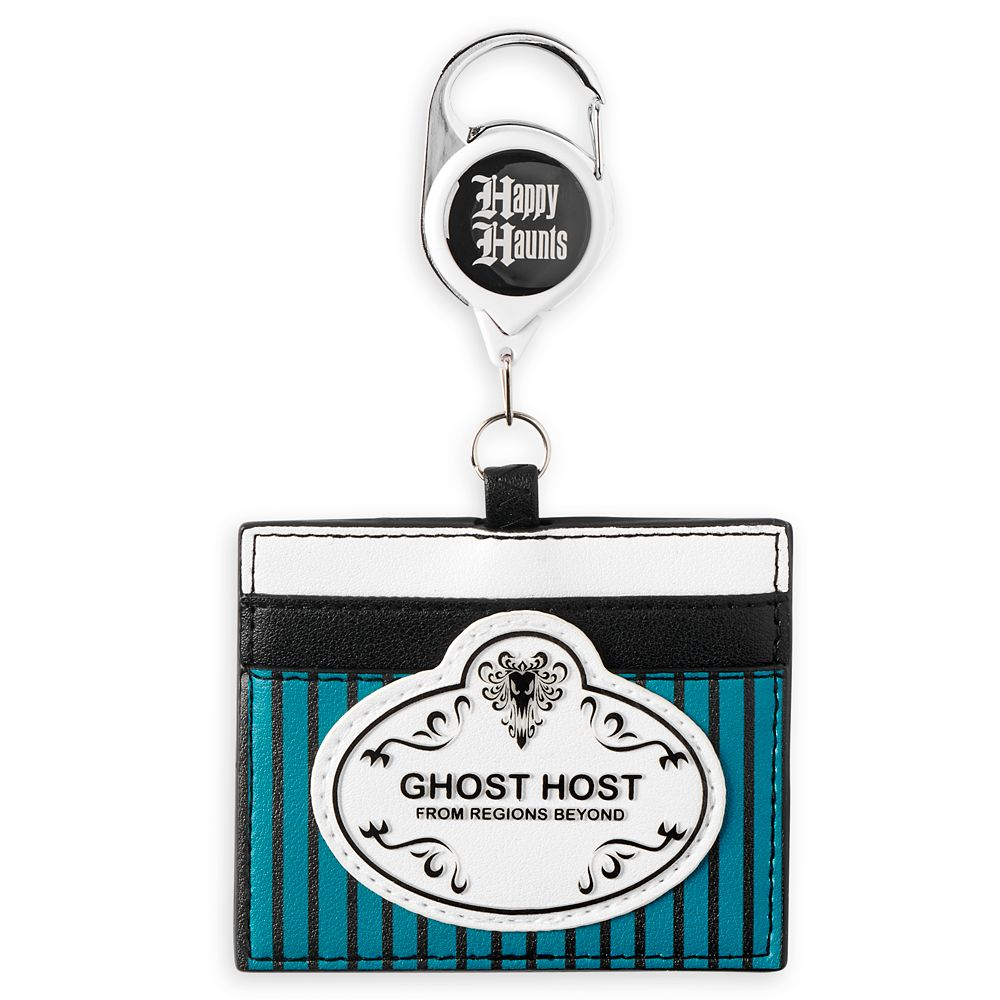 The Haunted Mansion Retractable Loungefly Lanyard